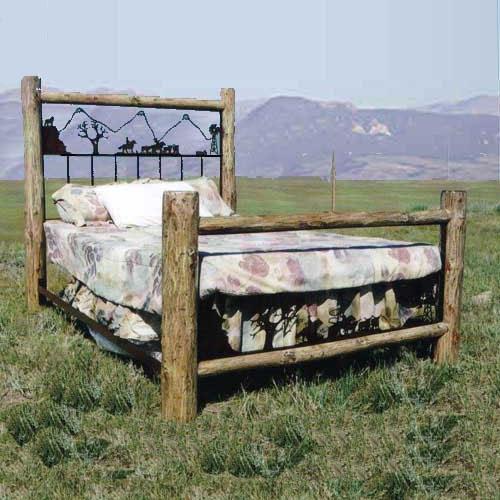 Log beds rockymountaindecor - Pictures of log furniture ...
