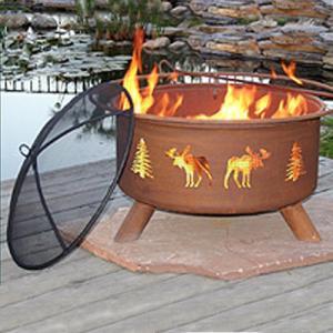 Moose Fire Pit